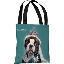 <strong>OneBellaCasa.com</strong> Pets Rock Queen Tote Bag