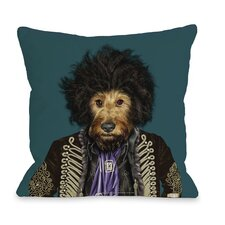 Pets Rock Psychedelic Pillow