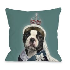 <strong>OneBellaCasa.com</strong> Pets Rock Queen Pillow