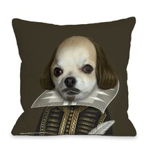 Pets Rock Shakespeare Pillow