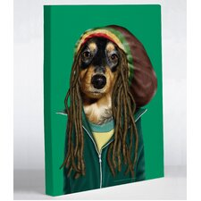 Pets Rock Reggae Canvas