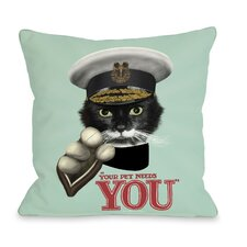 Pets Rock Kitchener Pillow