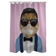Pets Rock Korea Polyester Shower Curtain