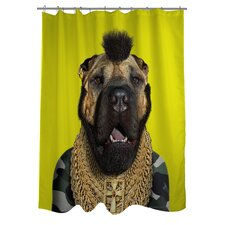 Pets Rock Fool Polyester Shower Curtain