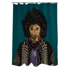 Pets Rock Psychedelic Polyester Shower Curtain