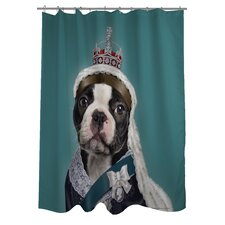 <strong>OneBellaCasa.com</strong> Pets Rock Queen Polyester Shower Curtain