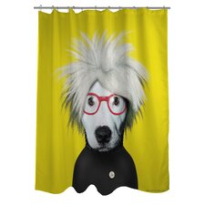 Pets Rock Soup Polyester Shower Curtain