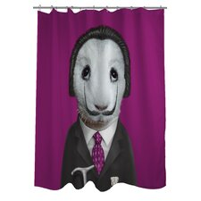 <strong>OneBellaCasa.com</strong> Pets Rock Surreal Polyester Shower Curtain