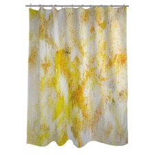 Oliver Gal Bird Song Polyester Shower Curtain
