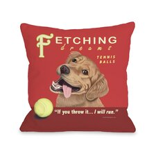 Doggy Décor Fetching Dreams Pillow