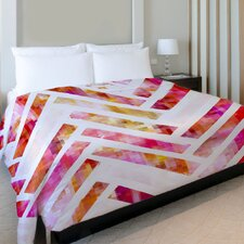 Oliver Gal Sugar Flake Herringbone Duvet Cover Collection