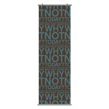 Slat Why Not Wall Hanging