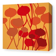 Aequorea Seedling Graphic Art on Canvas in Sunshine
