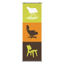 <strong>Inhabit</strong> Modern Classic 2 Slat Wall Hanging