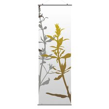 <strong>Inhabit</strong> Morning Glory Wildflower Slat Wall Hanging