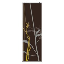 Morning Glory Tall Grass Slat Wall Hanging