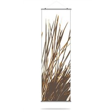 Thatch Slat Hanging Panel in Sunshine