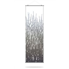 Field Grass Slat Hanging Panel in Artic Sky