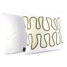 <strong>Inhabit</strong> Spa Kelp Suede Throw Pillow