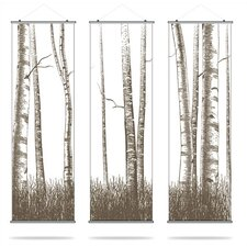 Madera Timber Slat Wall Hanging
