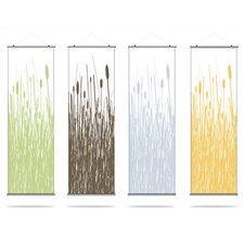 Cattails Slat Hanging Panel Collection