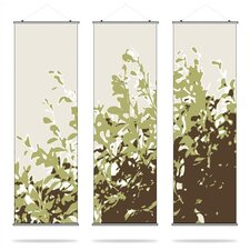 Foliage Slat Hanging Panel Collection in Grass