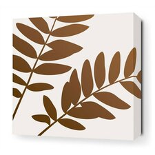 Leaf Stretched Wall Art