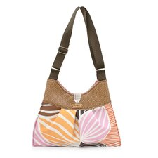 Kennedy Leaf Handbag in Blush / Sunshine