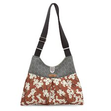 Kennedy Flowering Pyrus Handbag in Rust