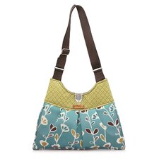 Kennedy Stencil Handbag in Aqua