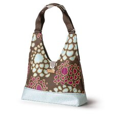 Reagan Mum Handbag in Plum / Cornflower
