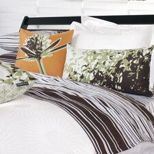 Estrella Damask Woven Duvet Cover Collection