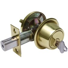 "6"" Single Cylinder Deadbolt"