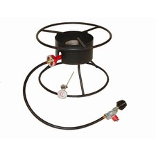 Heavy Duty Portable Propane Outdoor Cooker Package with Flat Top
