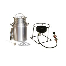 Turkey Fryer and Steamer Outdoor Cooker Package