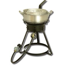 <strong>King Kooker</strong> Bolt Together Outdoor Cooker with 7 Quart Aluminum Deep Fryer
