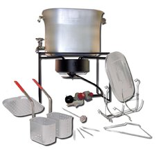 Hot Tub Outdoor Cooker Package