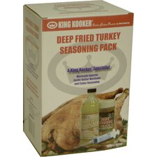 <strong>King Kooker</strong> Deep Fried Turkey Seasoning Pack