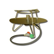 <strong>King Kooker</strong> Jet Burner Outdoor Cooker Package with Baffle and Round Bar Legs