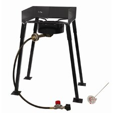Tall Rectangular Outdoor Burner Camp Stove Package