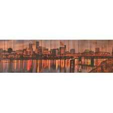 <strong>Gizaun Art</strong> City Skyline Wall Art