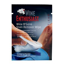 Wine B'Gone Ultra Stain Remover Travel Wipe (Set of 12)