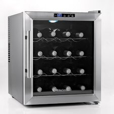 Silent 16 Bottle Single Zone Thermoelectric Wine Refrigerator