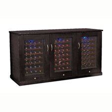 Trilogy 28 Bottle Triple Zone Thermoelectric Wine Refrigerator