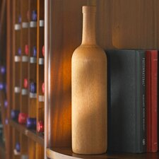 Wooden Bordeaux Wine Bottle (Set of 2)
