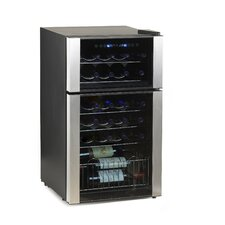 Evolution Series 29 Bottle Dual Zone Wine Refrigerator