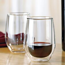 Steady-Temp Double Wall Cabernet Stemless Insulated Tumbler (Set of 4)