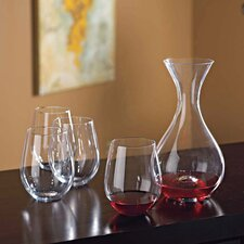 2 Piece U Decanter And Tumblers Gift Set