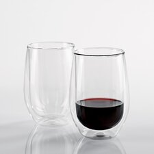 Steady-Temp Red Wine Glass (Set of 2)