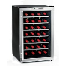 <strong>Wine Enthusiast</strong> Silent 28 Bottle Wine Refrigerator